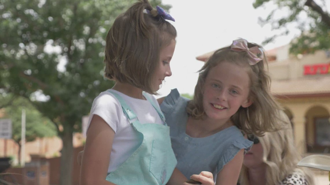 Wednesday's Child: Sisters 11-year-old Amanda and 10-year-old Stephanie wish to be adopted together
