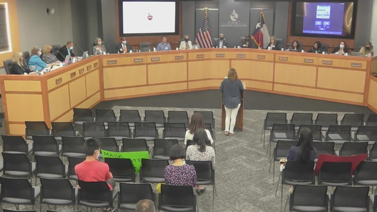 Plano ISD's mask requirement to end after school board vote
