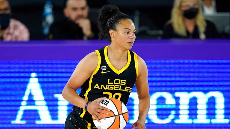 WNBA champion, L.A. Sparks' Kristi Toliver to become Mavericks assistant coach, team confirms