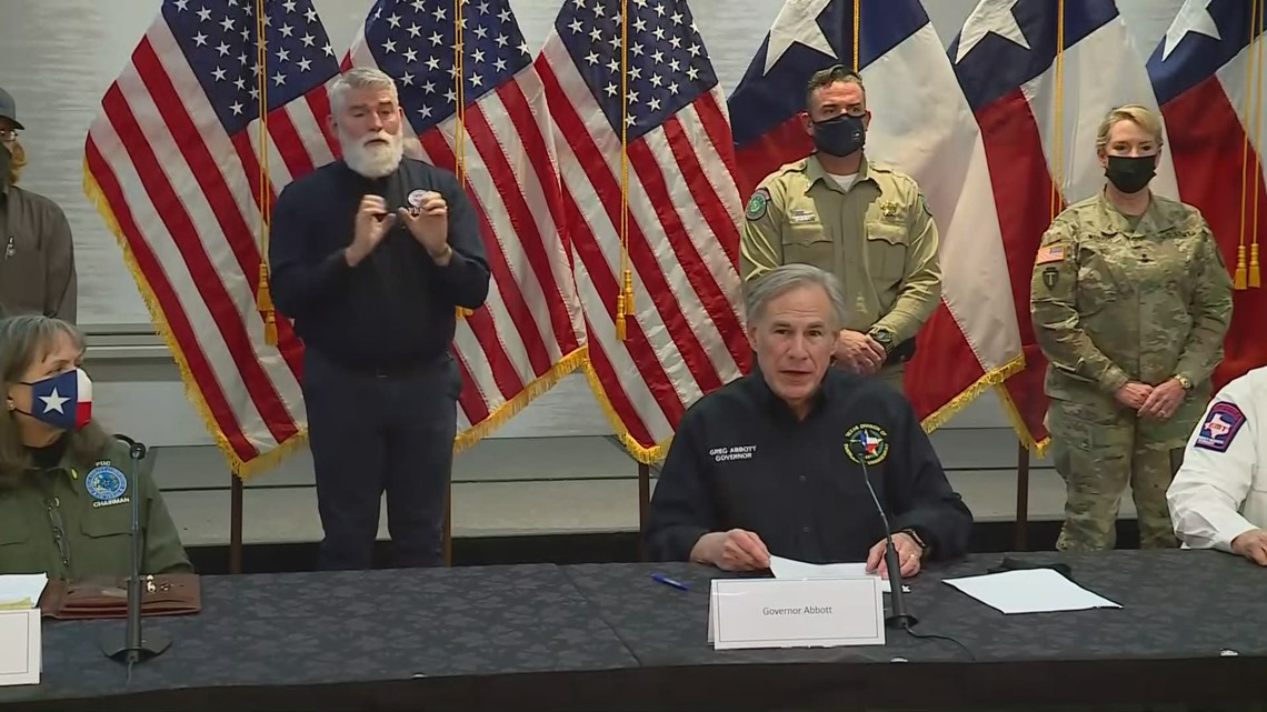 Gov. Greg Abbott lays out 5 tasks state is prioritizing amid crisis