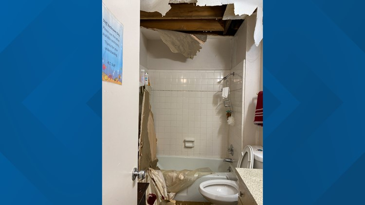 Irving nonprofit asks for donations after pipes burst, ceiling collapses
