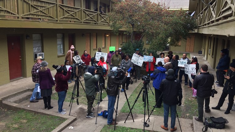 Dozens being evicted from low-income housing to make room for redevelopment