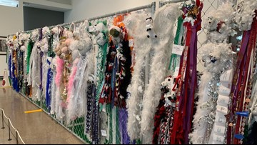 New homecoming mum exhibit at Arlington Museum explains history of Texas tradition
