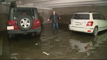 Love Field says 75 cars were water-damaged in storms