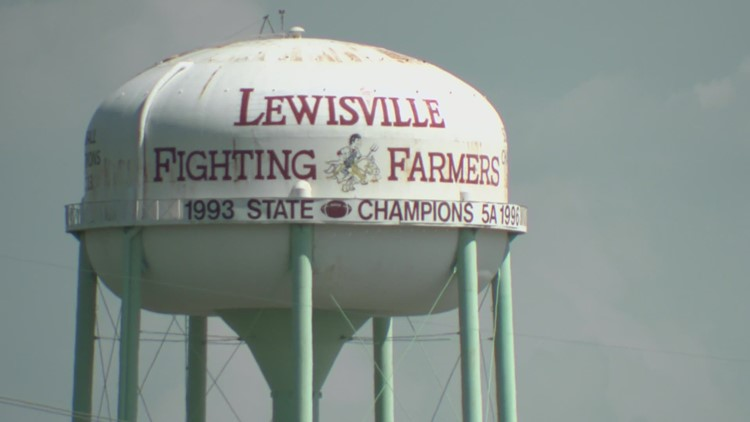 Iconic Lewisville water tower to come down