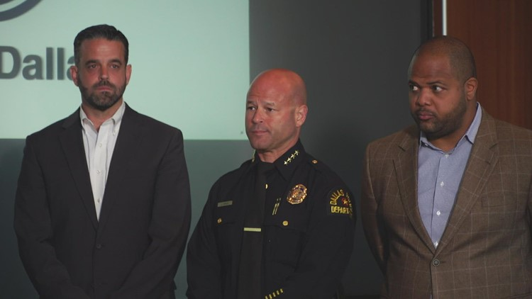 Dallas mayor, police chief unveil new plan to reduce domestic violence in city
