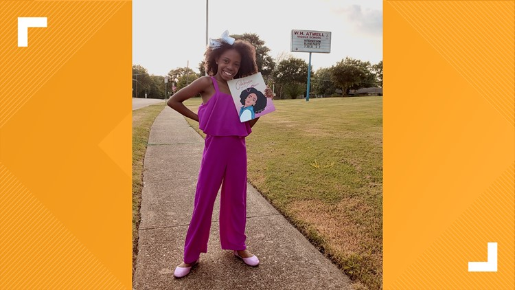 Rooted: 'Love your hair just the way God made you,' says 9-year-old girl encouraging youth to celebrate their crowns