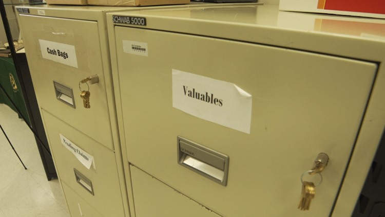 Comptroller unclaimed property file drawers