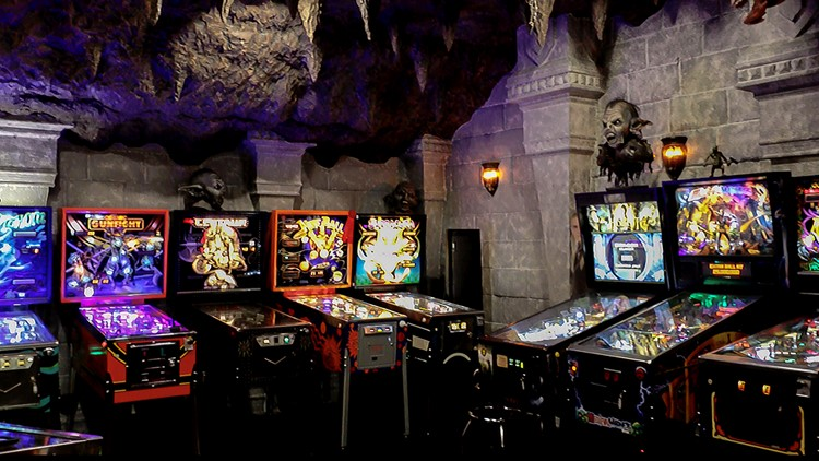 Bobby Niefer's game room is the one to rule them all