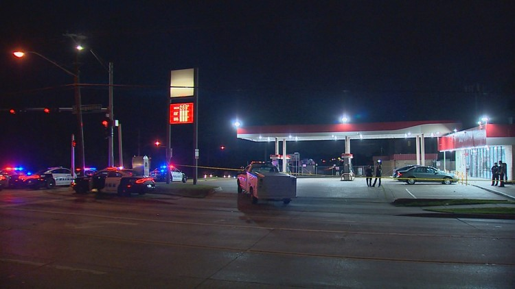 gas station 13yo killed shooting