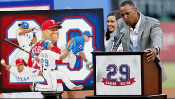 In between wins against A's, Texas Rangers retire Adrián Beltré's number