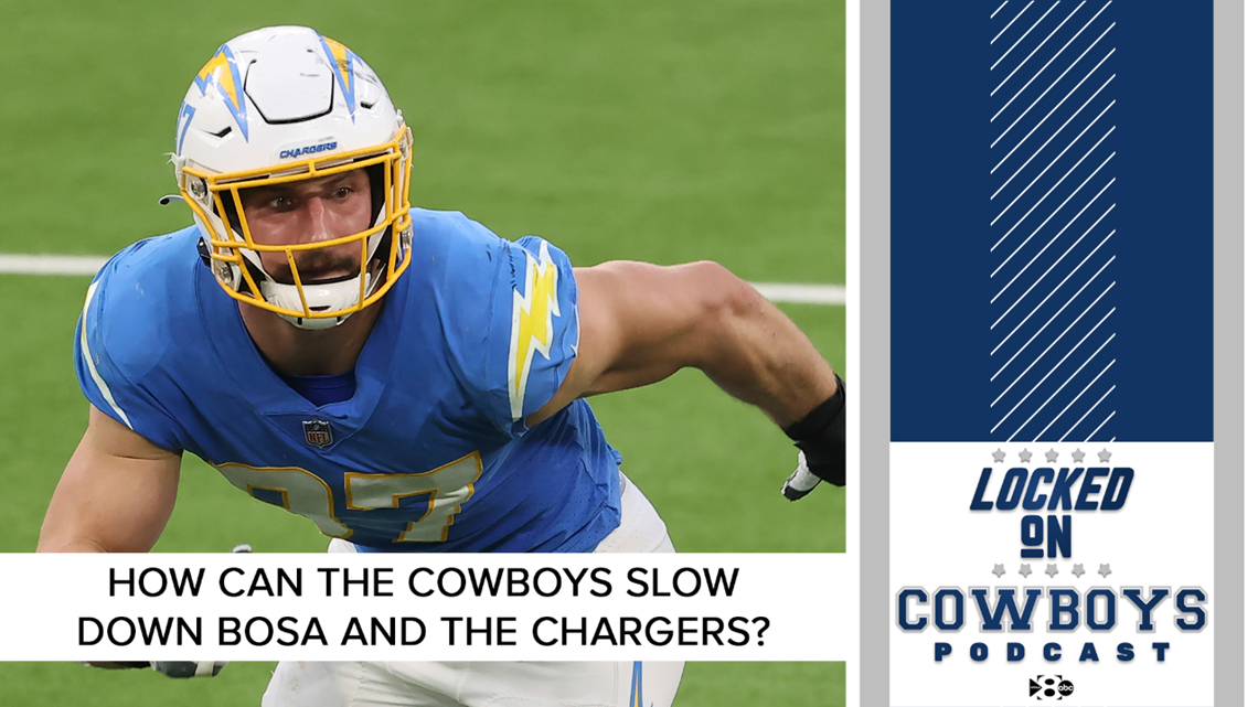 How can the Cowboys slow down Joey Bosa and the Chargers? | Locked On Cowboys