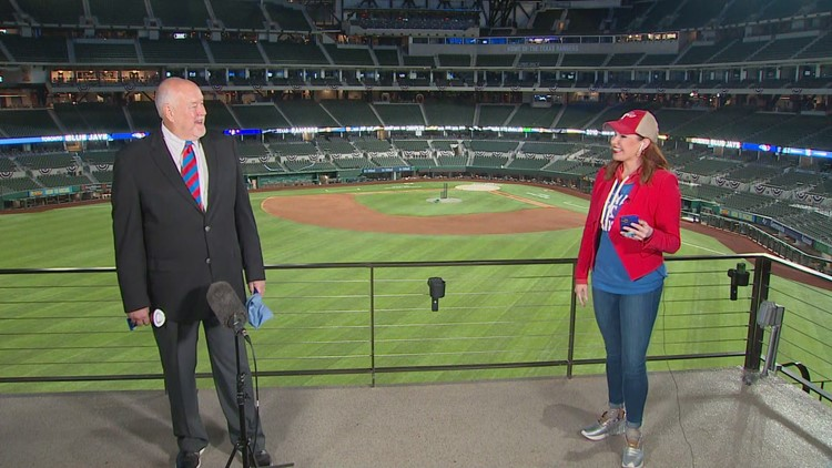 Rangers executive explains why new Globe Life Field could give team a great home field advantage