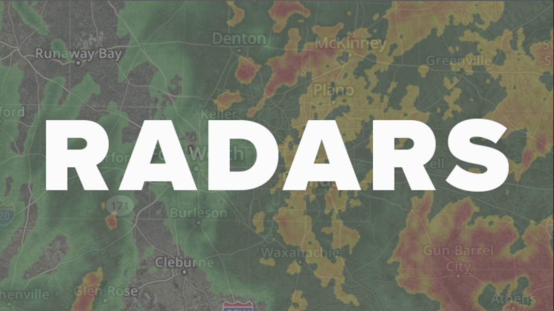 Storms in North Texas: Check your local radar