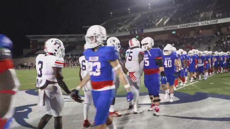 Allen High School football's 84-game winning streak snapped after loss against Atascocita
