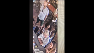 'It's brazen': Police searching for duo caught on camera stealing wallet at popular barbecue spot