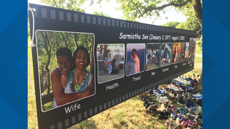 Memorial held one year after woman was killed on Plano trail