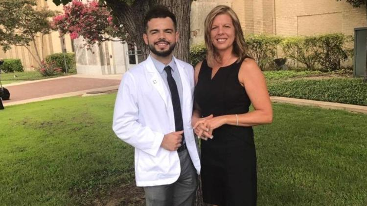 First college graduate in his family, a north Texas student prepares to become a doctor