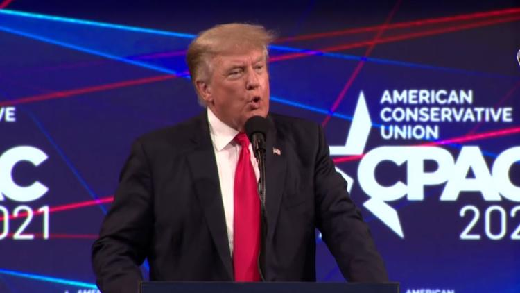Former President Donald Trump speaks at CPAC in Dallas as supporters, opponents, analysts weigh his future with the GOP