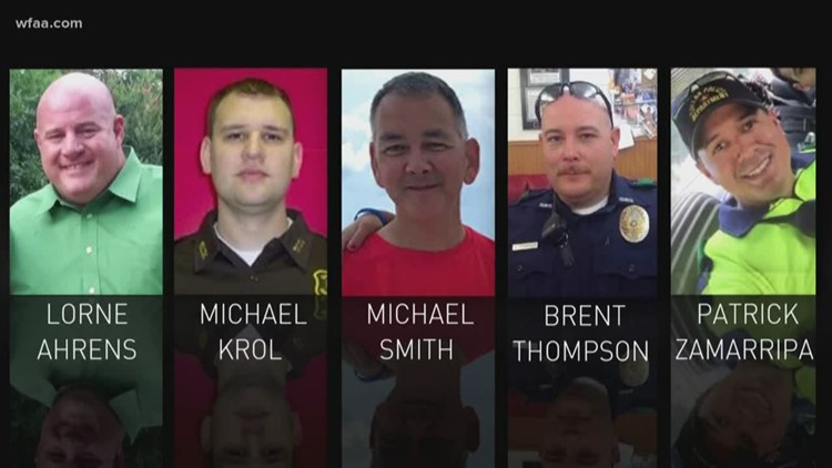 Remembering the officers killed in downtown Dallas ambush