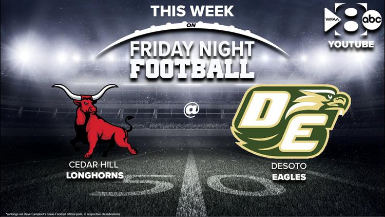 Friday Night Football: Cedar Hill vs DeSoto