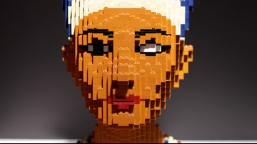 The Art of the Brick at the Perot Museum in Dallas