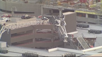 Crane company claims high winds cause of collapse that killed woman
