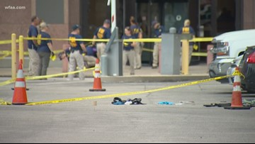 Courthouse shooting: FBI processing scene, gathering evidence