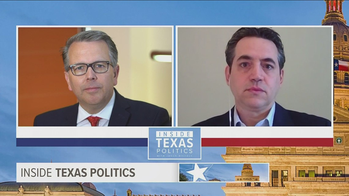 New Texas GOP chair vows to work with all Republicans, but doesn't see much room with Democrats