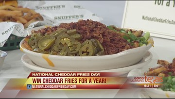 National Cheddar Fries Day