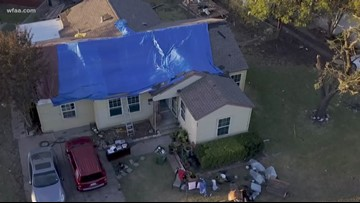 An EF-2 tornado hit Garland Sunday. Then, the 'lookie-loos' followed.