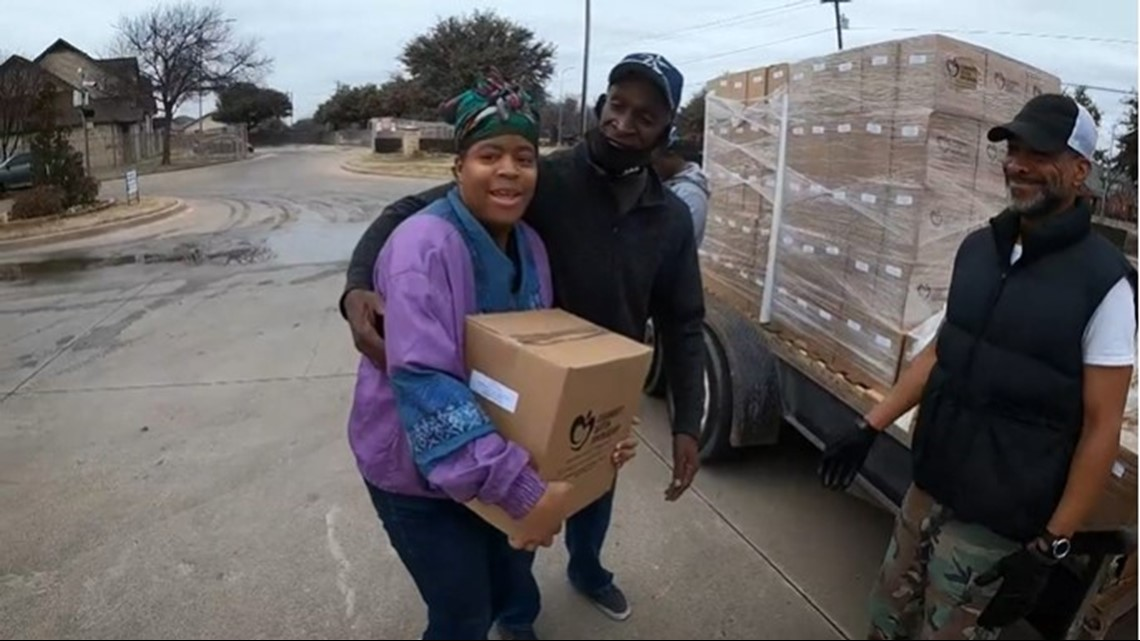 Nonprofit, grassroot relief efforts continue as D-FW residents remain without water after winter storm