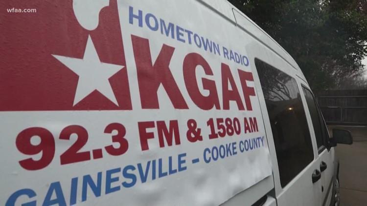 Radio station 'KGAF' license plate denied for 'being vulgar,' DMV says