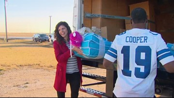 Cowboys star Amari Cooper excels on and off the field. Just ask this military family.