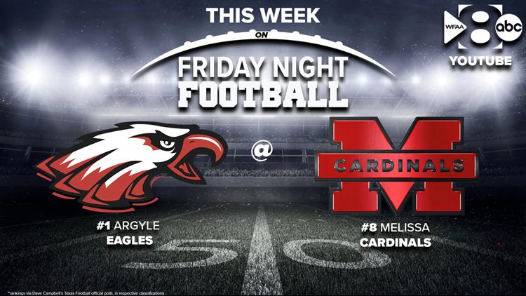 Friday Night Football: #1 Argyle takes on #8 Melissa