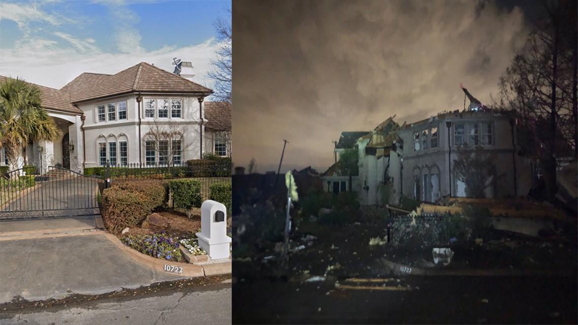 Dallas Stars Tyler Seguin's house destroyed in tornado
