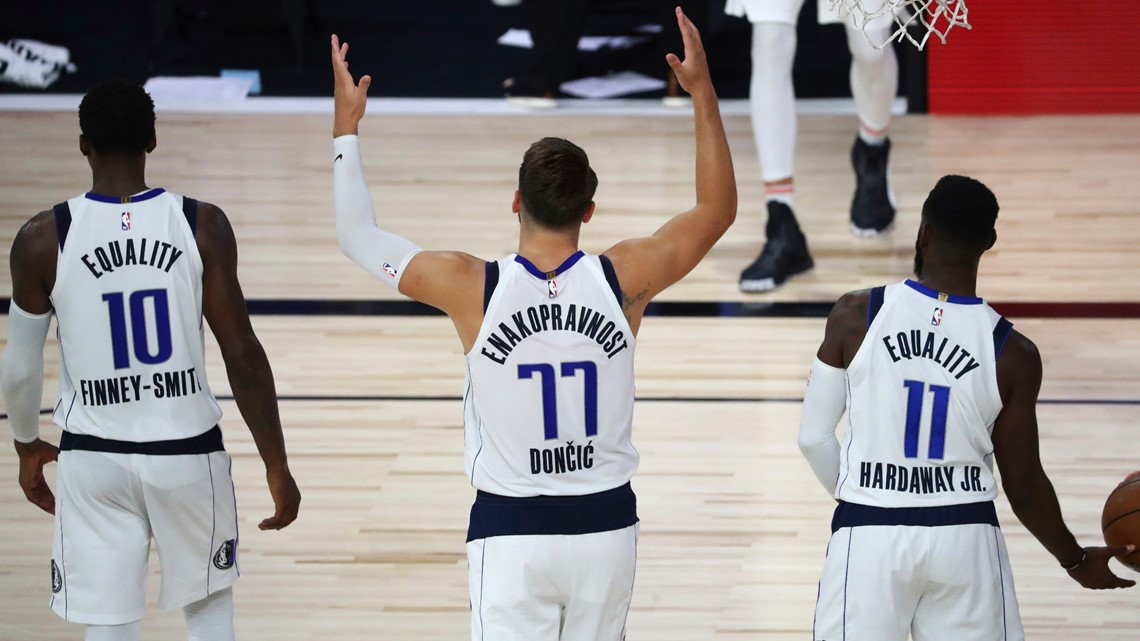 Following Luka Doncic S Lead Dallas Mavericks Continue To Adjust Wfaa Com