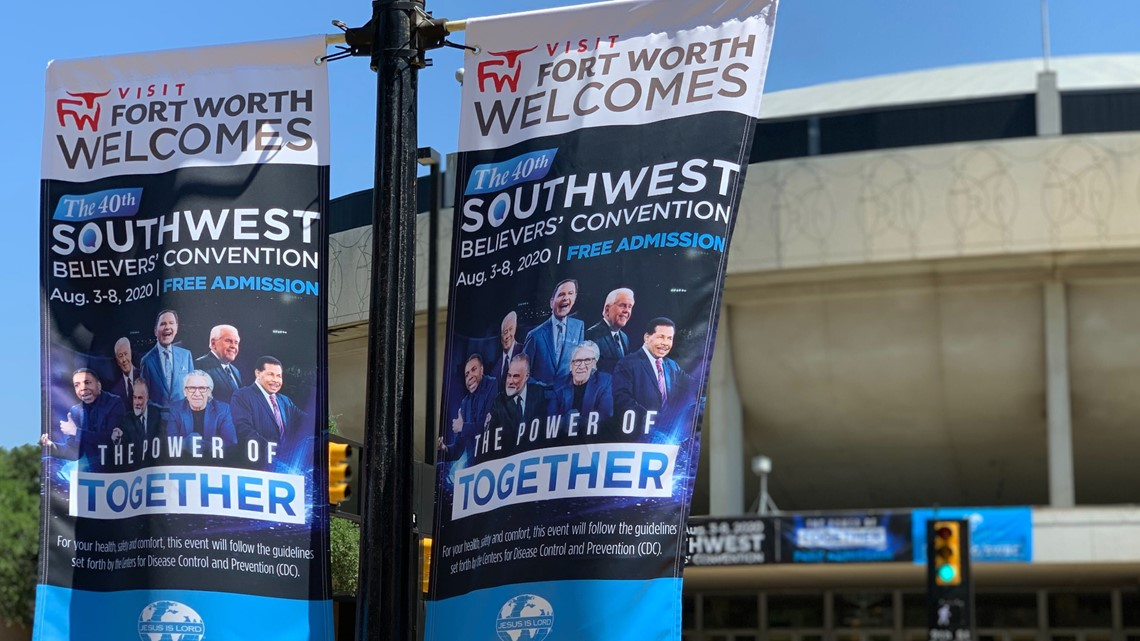 'Now's not the time to relax,' says disappointed Tarrant County judge, as popular televangelist wraps up large multi-day convention