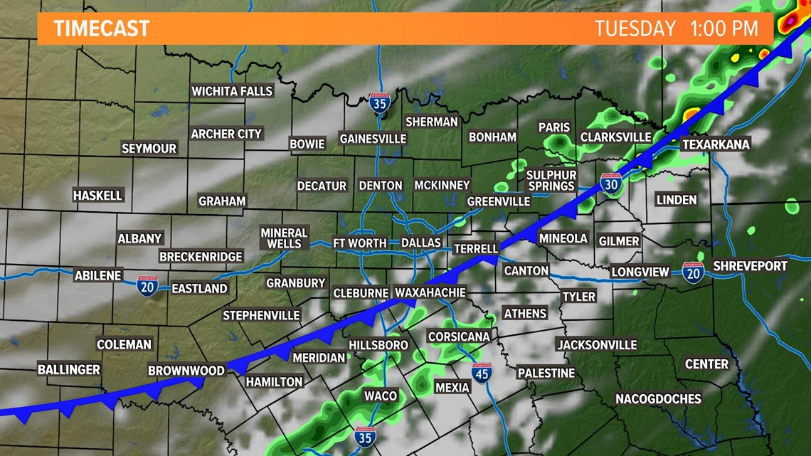 Cold Front Timing