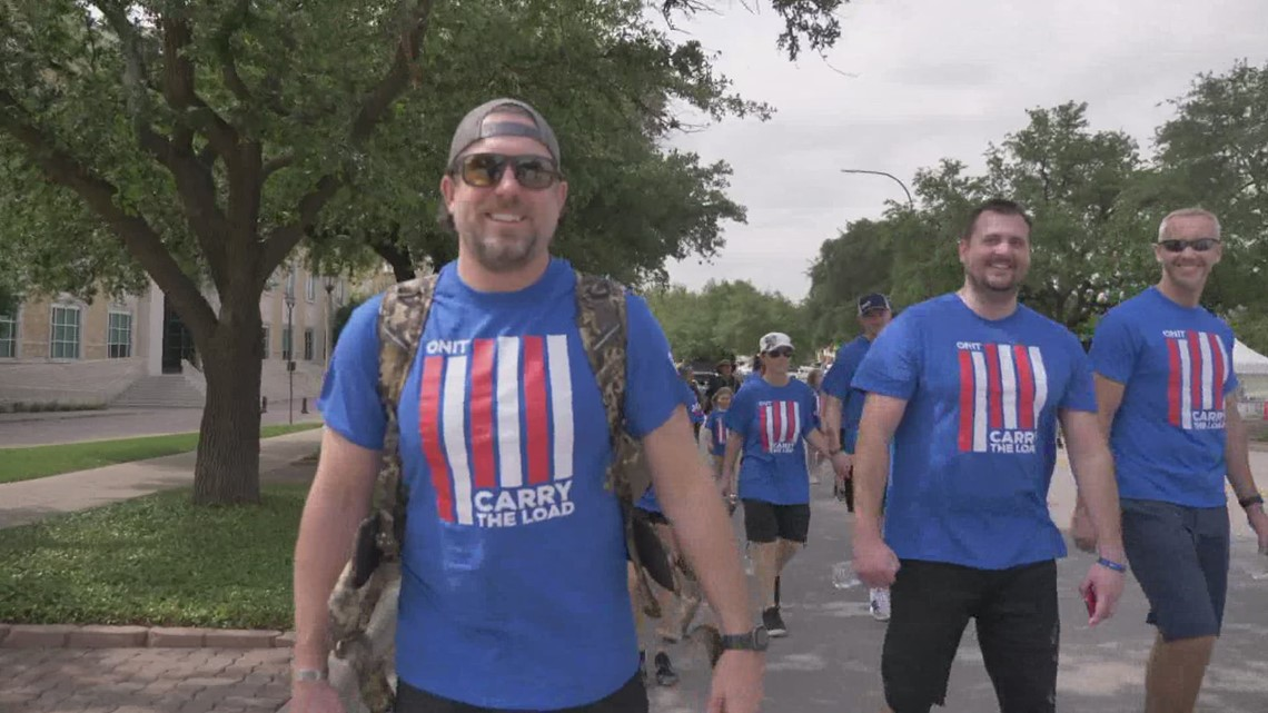 Veterans march held in Fort Worth in effort to help families who've lost loved ones