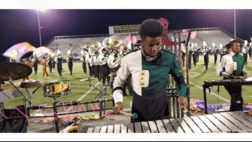 DeSoto High School marching band travels east to compete in major competition