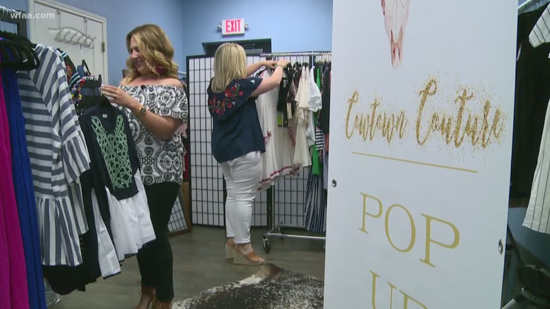Fort Worth Boutique Finds Heartwarming Passion Through Fashion Wfaa Com