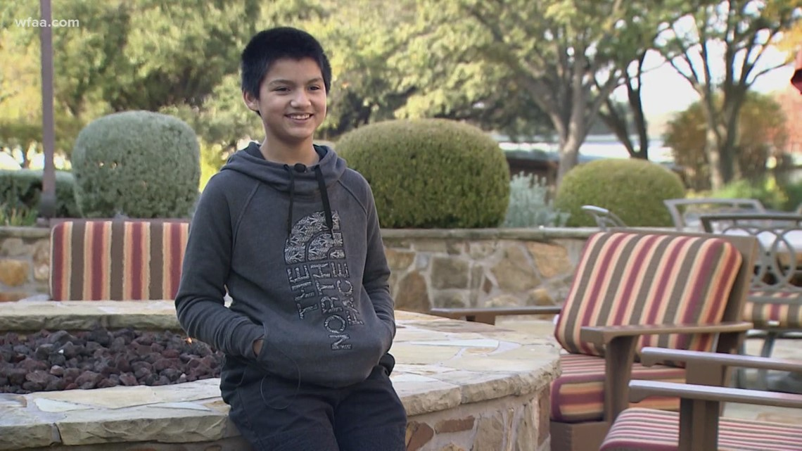 Wednesday's Child: 12-year-old Christian prays for forever family who will love, respect  him