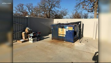 Missing an Amazon package? It might have been thrown in this dumpster