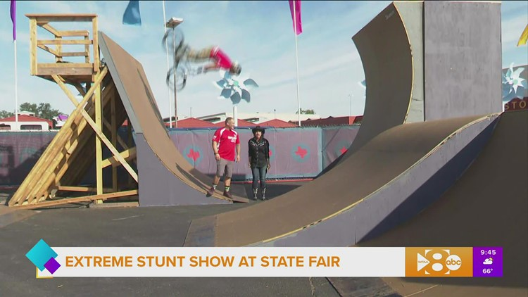 TX Stunt Jam at the 2021 State Fair of Texas