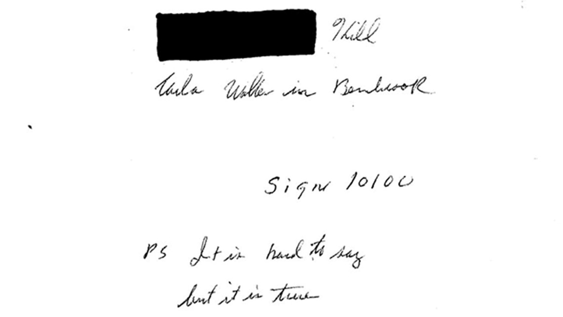 Could this letter solve a 45-year-old cold case murder?
