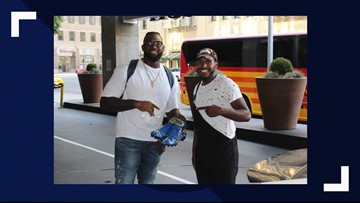 Dallas man customizes football cleats from inside enemy lines