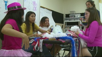 How Southwest High School students are sharing the joy of homecoming mums with everyone