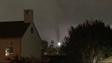 DFW weather: Tornado rips through North Dallas; Over 120,000 without power early Monday