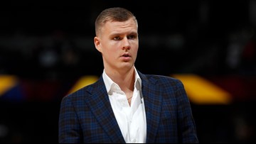 Dallas Mavericks center Kristaps Porzingis shown bloodied on video after apparent fight in Latvia